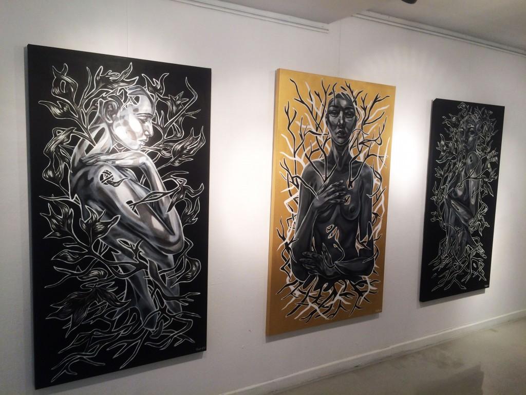 Paola Delfín Montana Gallery Barcelona
