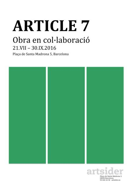 Artsider arte contemporáneo Barcelona