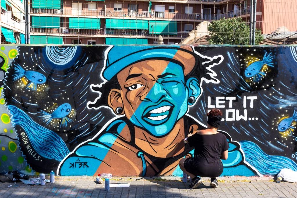 Kler & Valiente Creations arte urbano en Barcelona