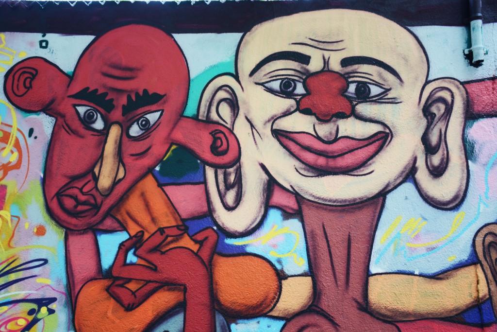 Vassilis Rebelos y Sebastien Waknine arte urbano en Barcelona