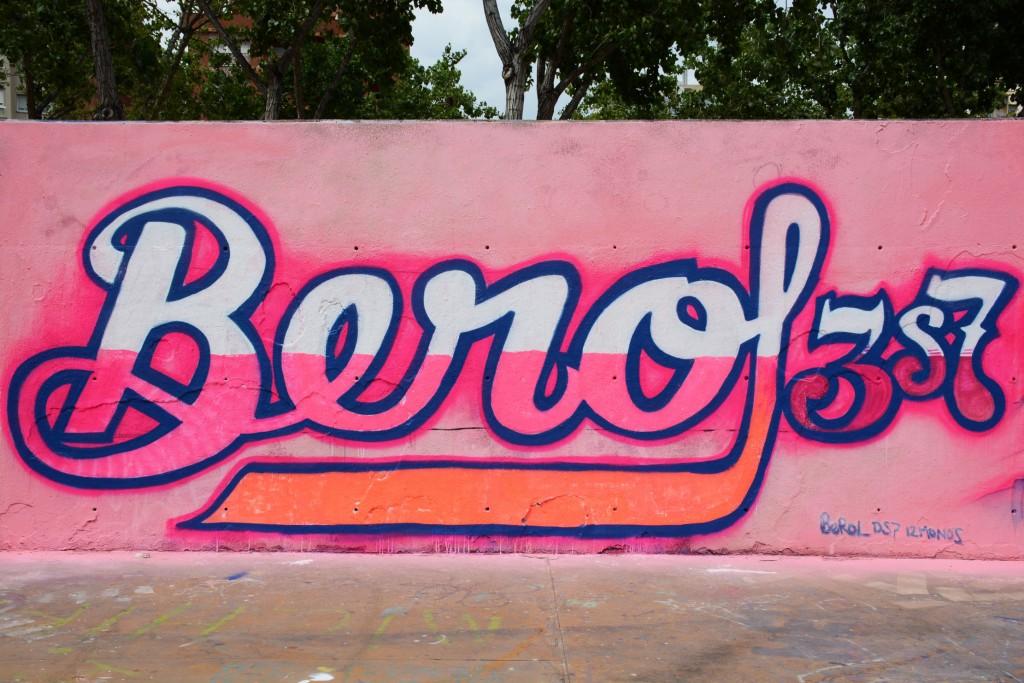 Berol & Carga Máxima Arte urbano en Barcelona