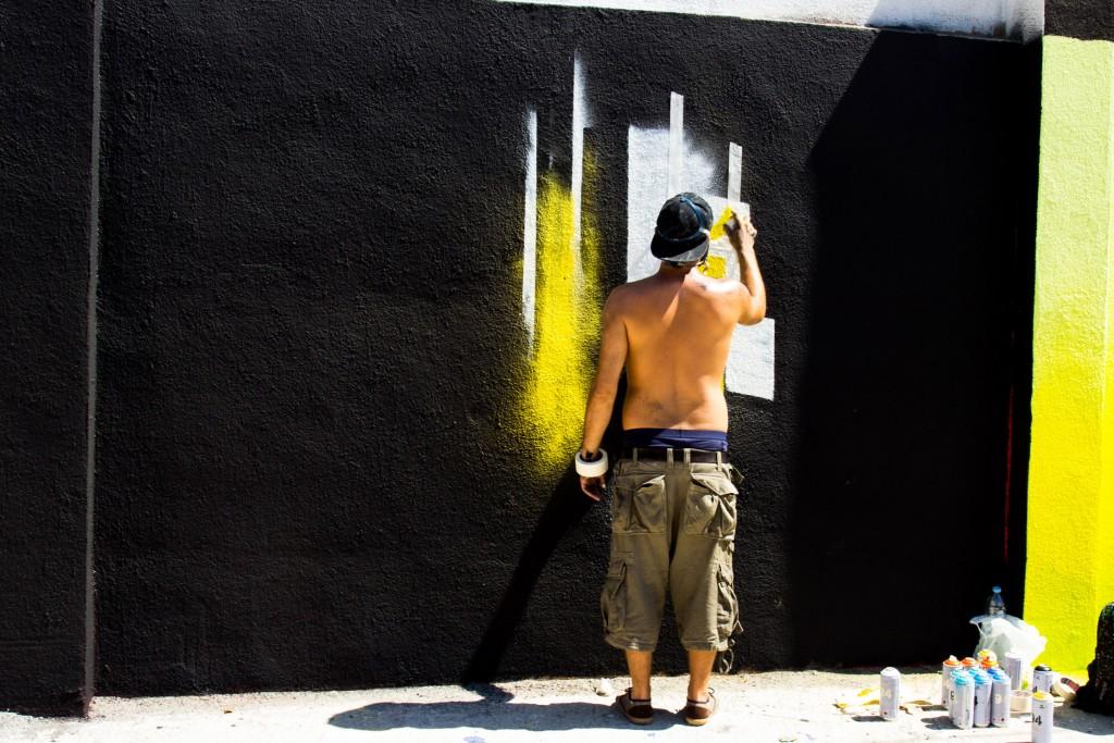 Lauro Samblas, arte urbano en Barcelona