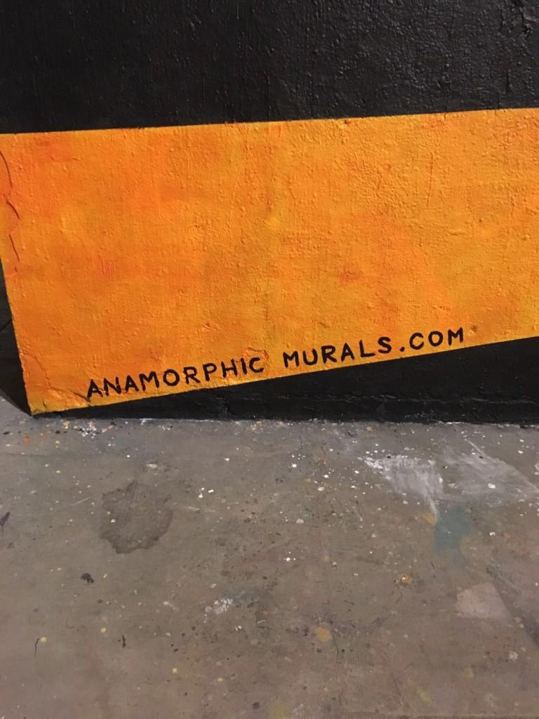 Anamorphic Murals arte urbano en Barcelona
