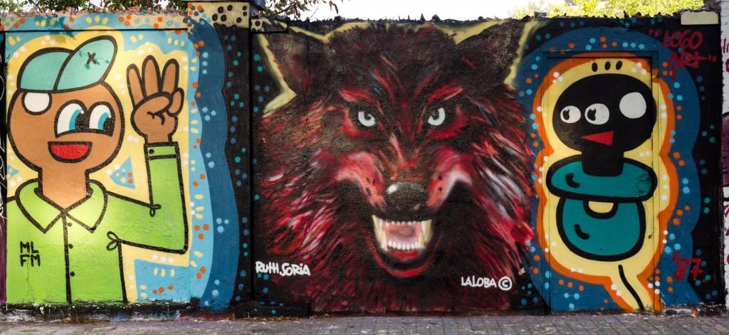 El Xupet Negre, Ruth Soria, arte urbano en Barcelona