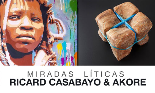 Akore & Ricard Casabayó arte urbano Barcelona