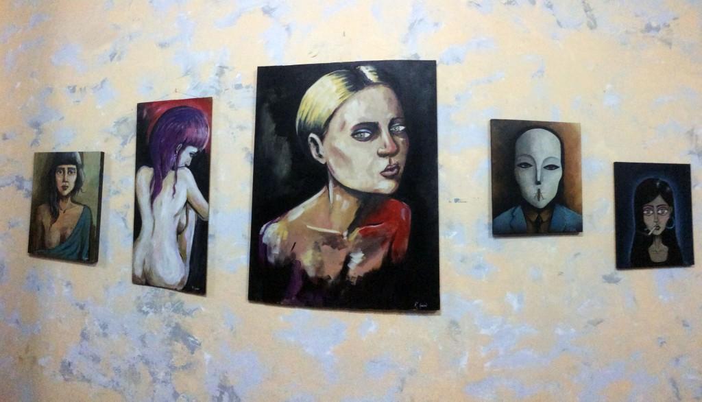 Arte urbano en el club Belafonte