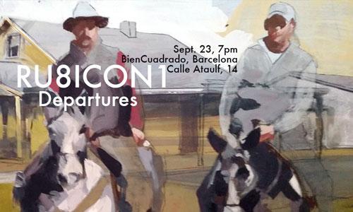 Ru8icon1 exposición individual en Barcelona
