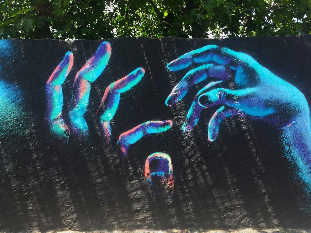 Txemy arte urbano en el Penelles