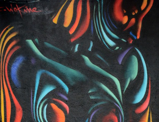 Sebastien Waknine arte urbano en Barcelona