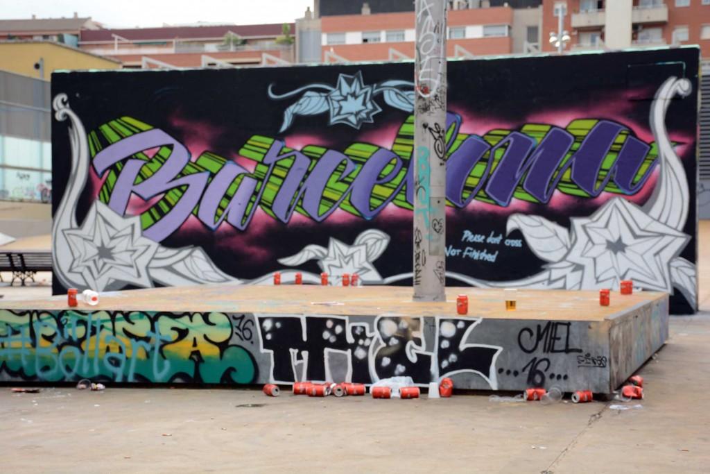 Paulo Consentino arte urbano Barcelona
