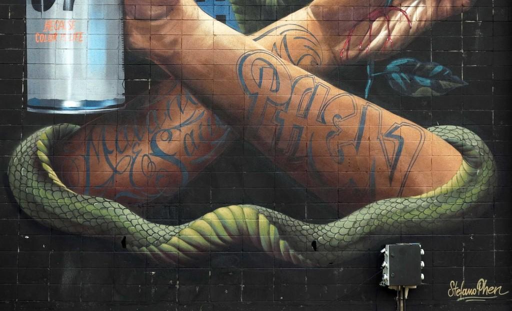 STEFANO PHEN arte urbano en Barcelona
