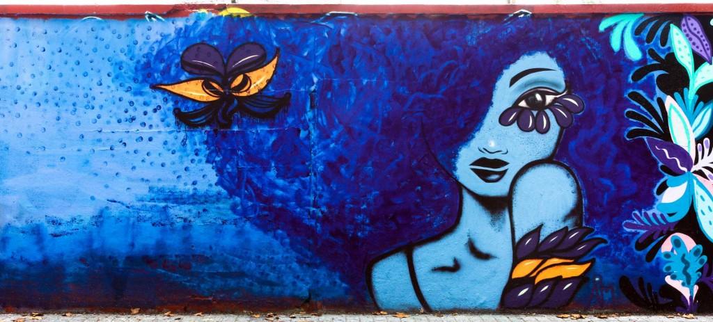 Anja Mila Arte urbano en Barcelona
