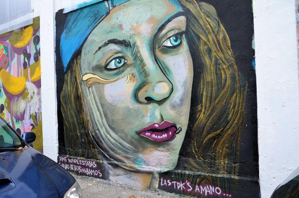 Arte urbano en Deusto, Bilbao