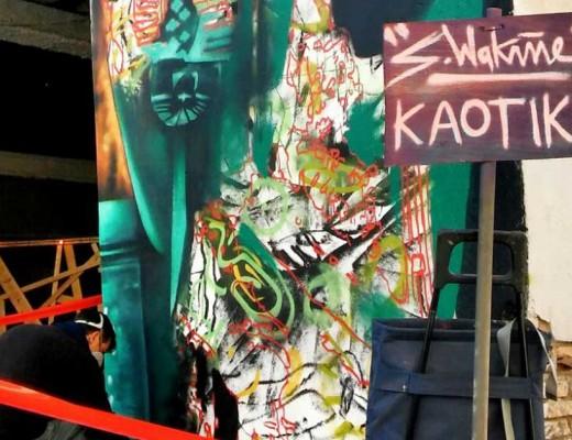 Sebastien Waknine arte urbano en Igualada