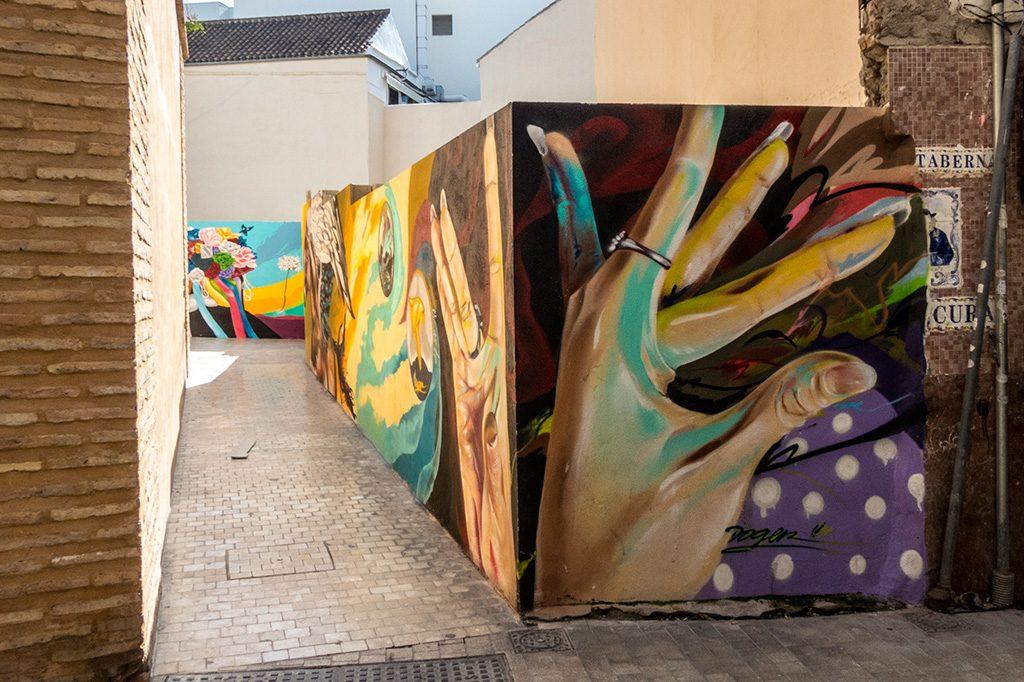 arte urbano en Málaga, Doger
