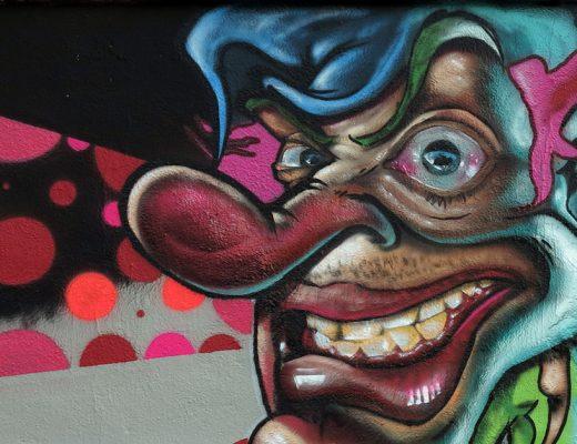 arte urbano berok y DAM