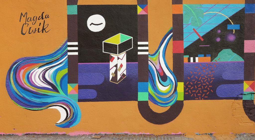 Magda Cwik arte urbano en Barcelona