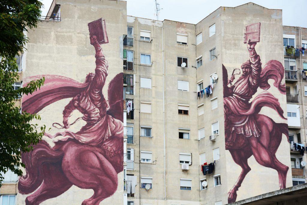 Arte urbano Jaz, Avant-Garde Tudela