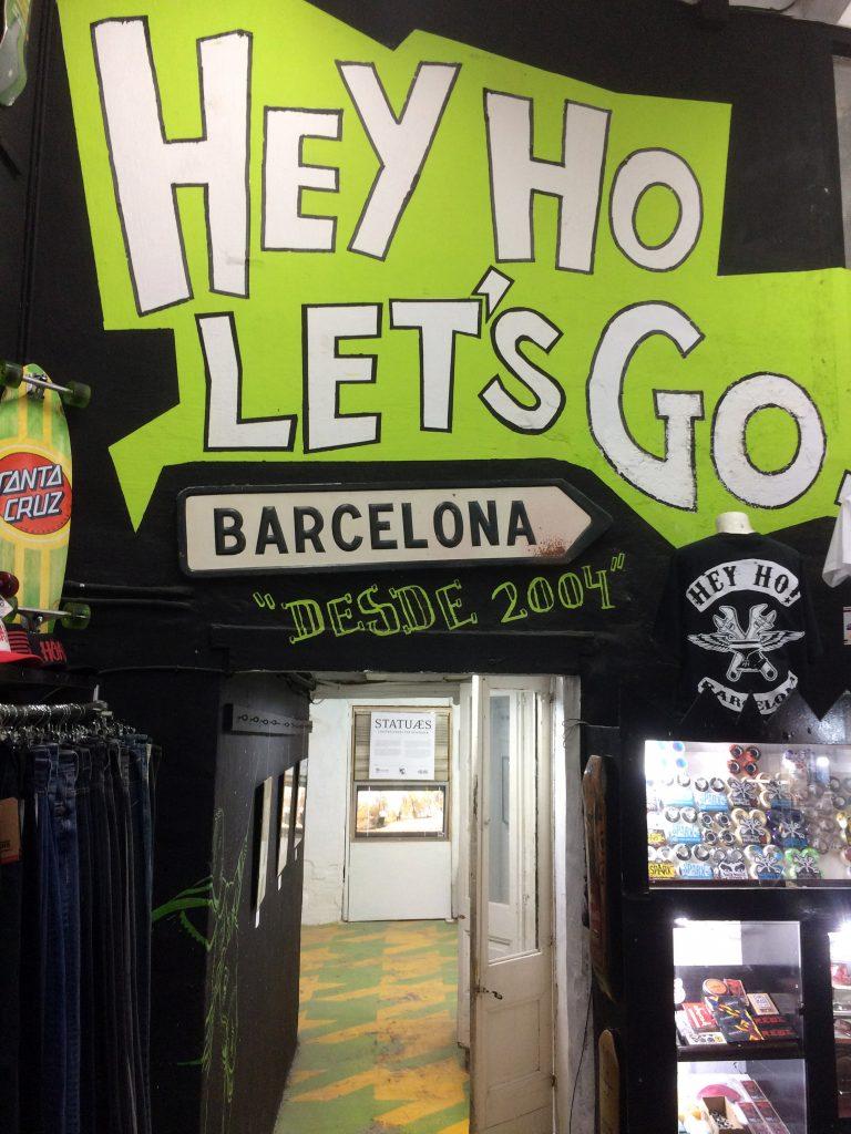 Galería de arte en Barcelona Hey Ho Let's Go!