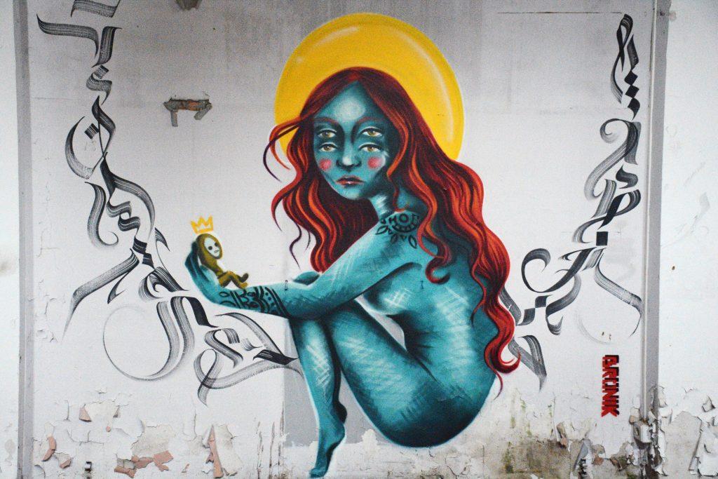 Bronik arte urbano, Barcelona