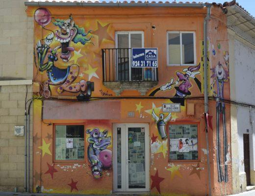 Arte urbano Mérida, España