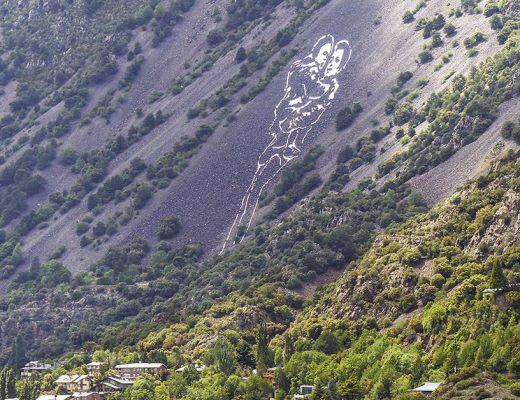 Marc Sellarés arte urbano en AndorraMarc Sellarés arte urbano en Andorra