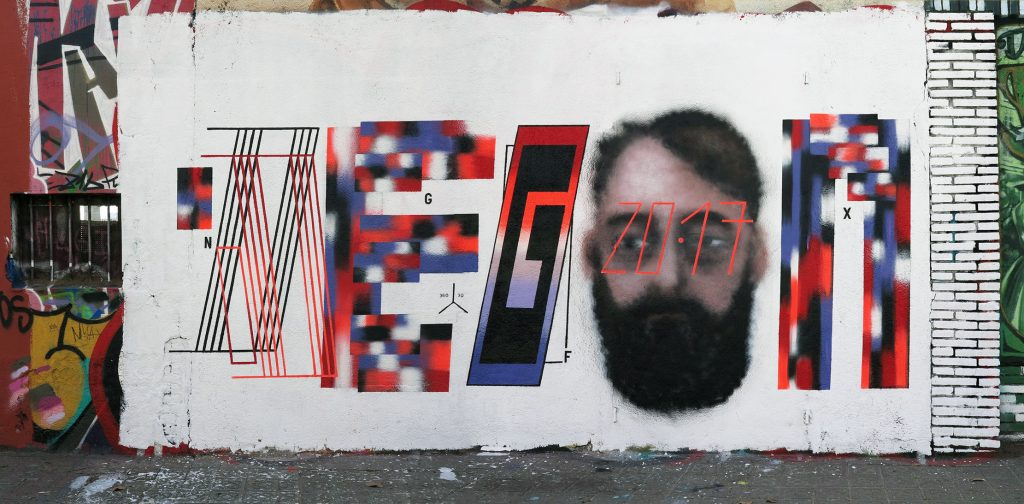 Arte urbano Degon, Barcelona