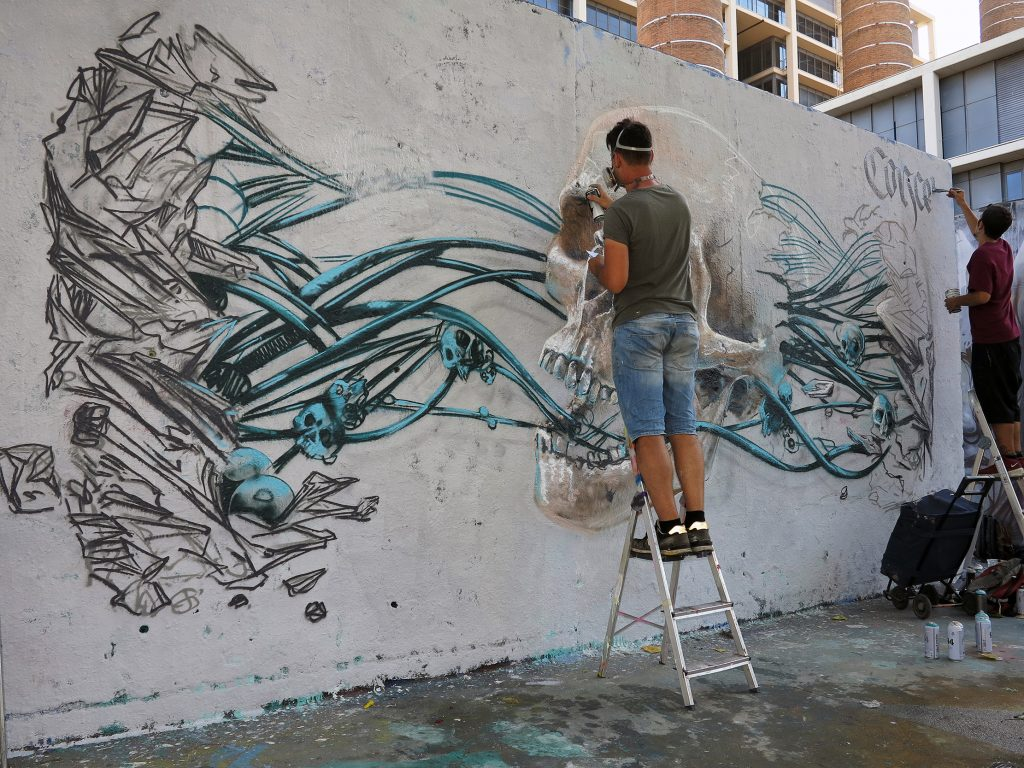 Sebastien Waknine arte urbano