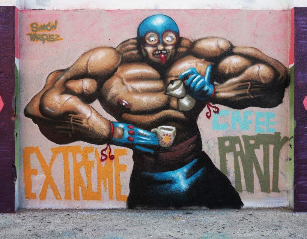 arte urbano Simón Vázquez, Barcelona