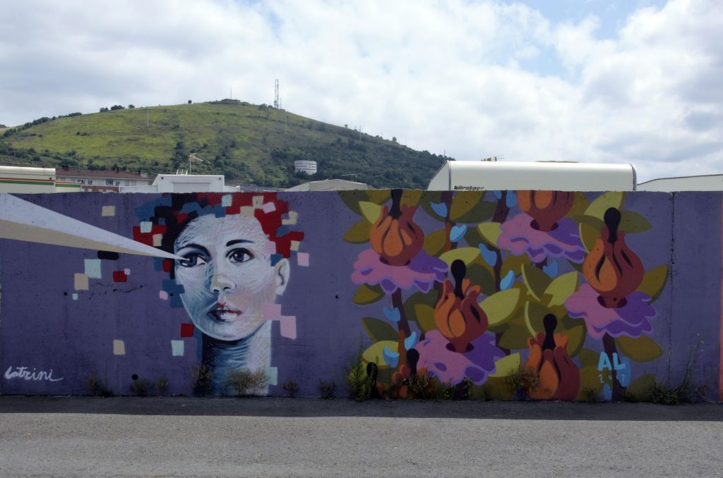 Txemy Muro Latrini DSM arte urbano bilbao