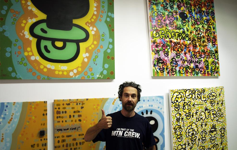 Arte urbano el xupet negre Barcelona