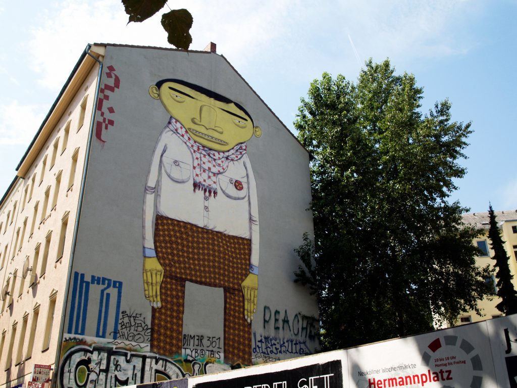 Os Gemeos arte urbano desde Berlín
