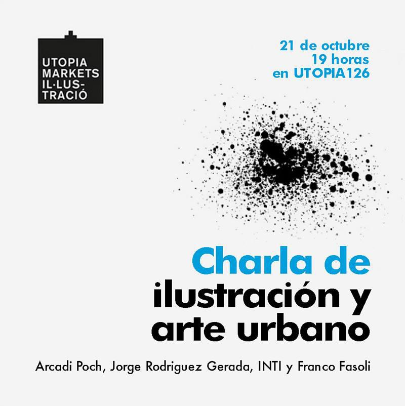 Arte urbano Jorge R. Gerada, INTI y Franco Fasoli