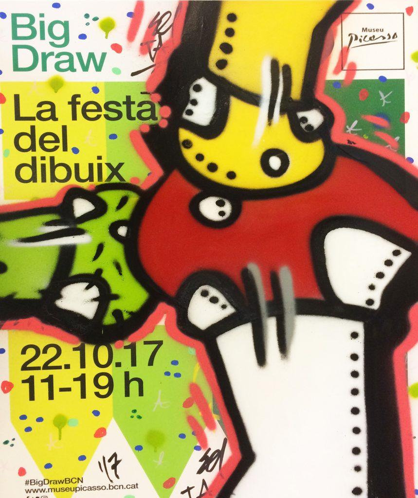 SetaBCN Big Draw, Museu Picasso, Barcelona