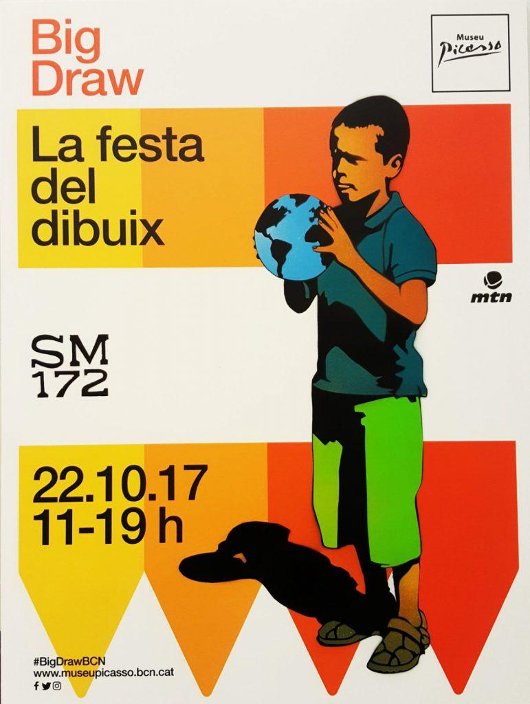 SM172 Big Draw, Museu Picasso, Barcelona