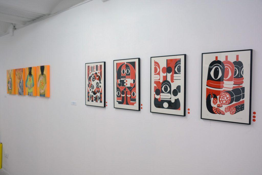 Galería de arte Enric Font y Gonzalo Rueda