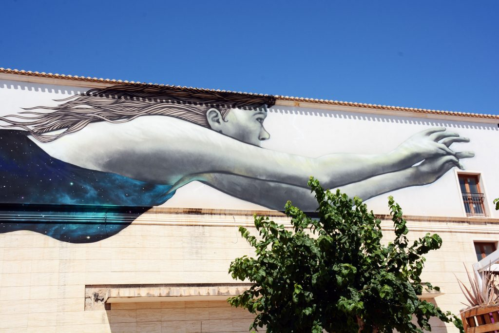 Arte urbano de Sfhir Alcazares Murcia