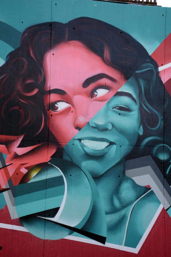 Arte urbano de Zurik en l'Hospitalet de Llobregat