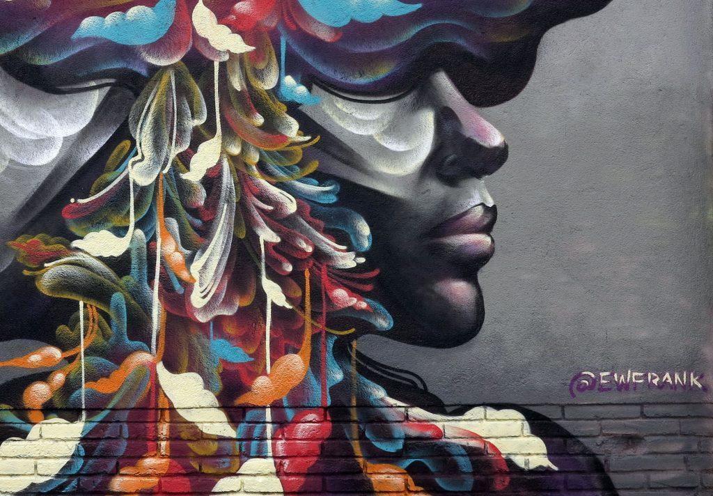 arte urbano Franceska Gamez, Barcelona