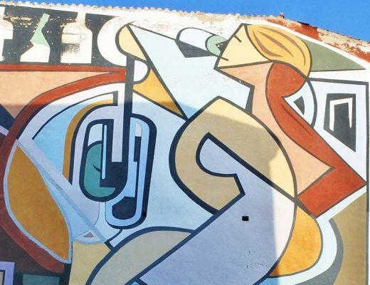 Arte urbano José Uríszar en Haro, La Rioja