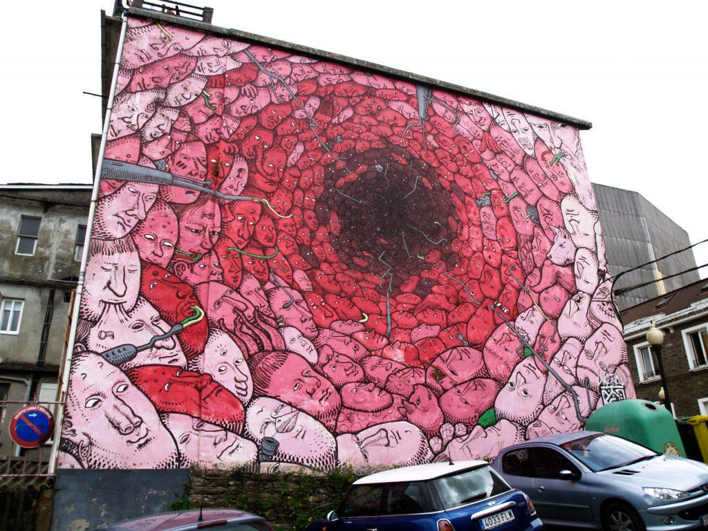 Liqen arte urbano en Galicia, Ordes