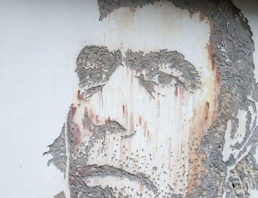 Arte urbano Vhils en Wynwood Walls Miami