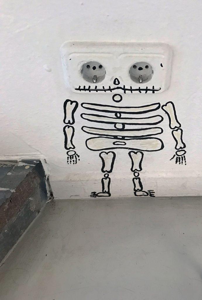 Arte urbano de OakOak Montana Barcelona