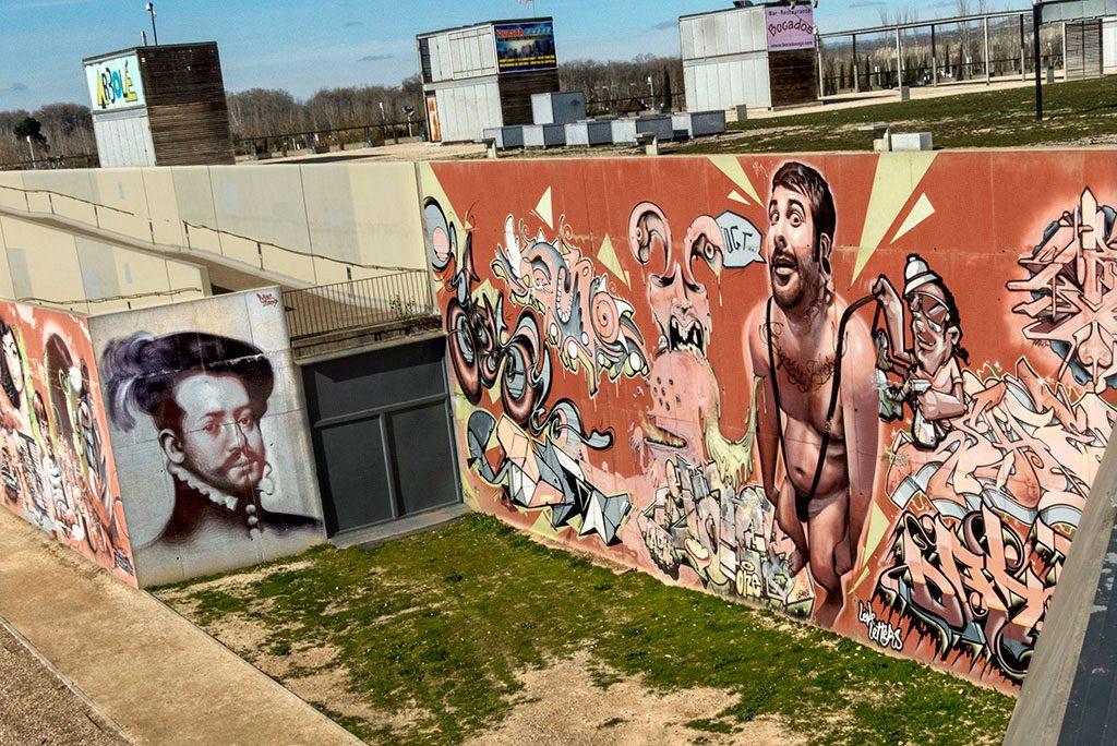 Arte urbano en Zaragoza