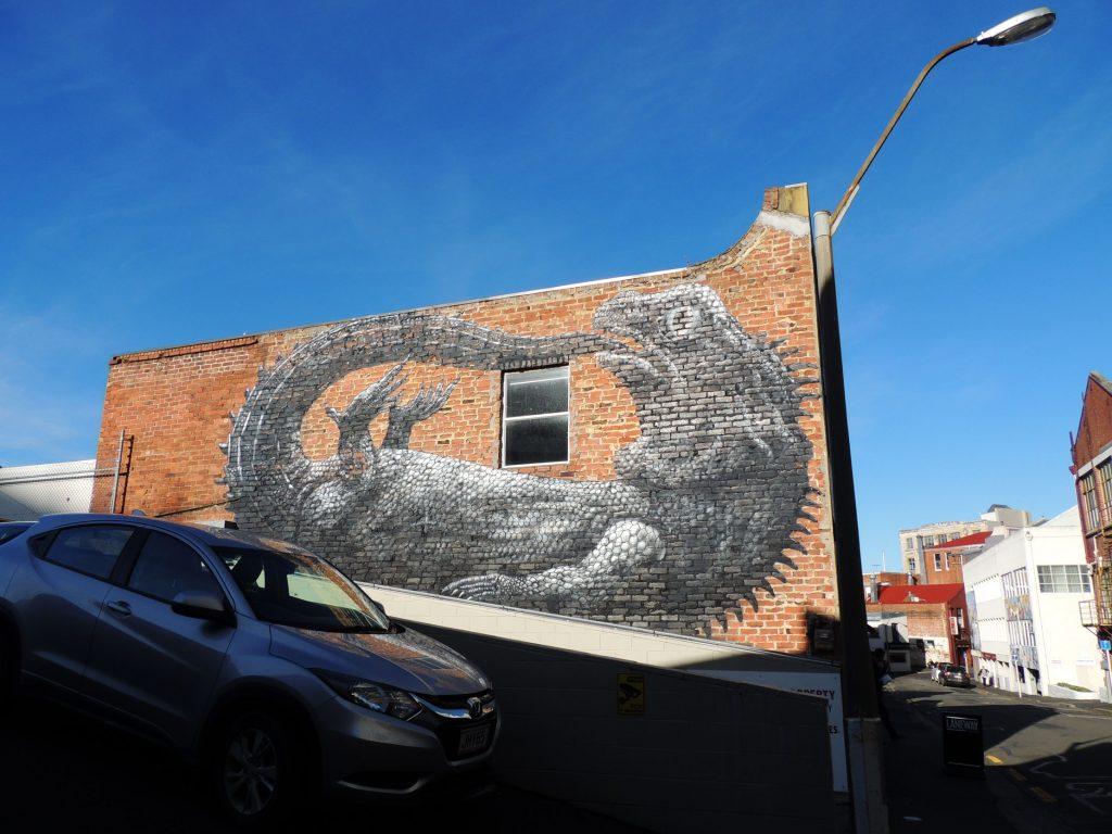 Arte urbano, ROA, Dunedin, New Zealand