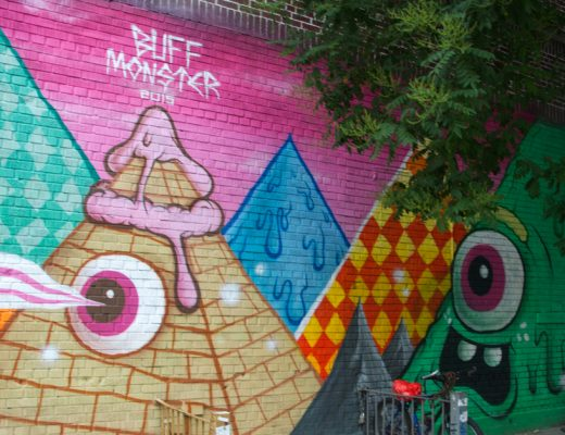 arte urbano Buff Monster New York