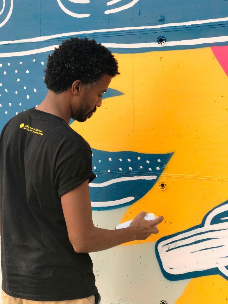 VaJo arte urbano en Barcelona