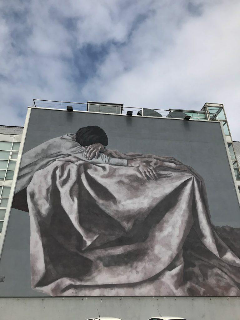arte urbano Hyuro Carballo, Galicia