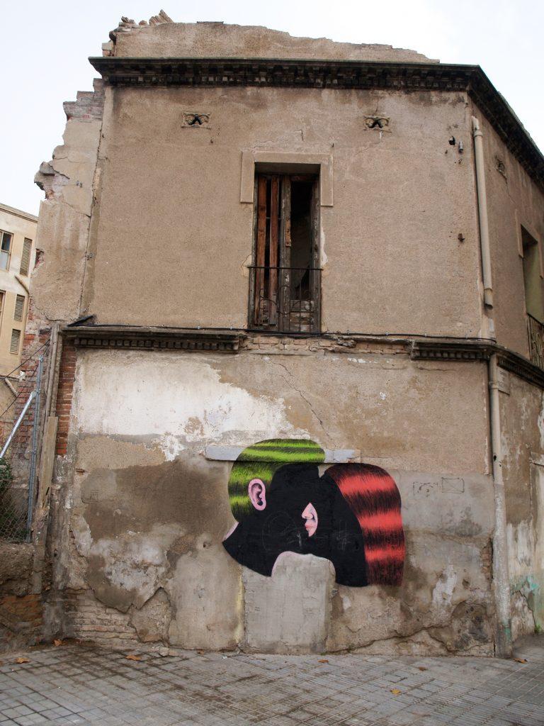 Arte urbano de Grip Face, Barcelona