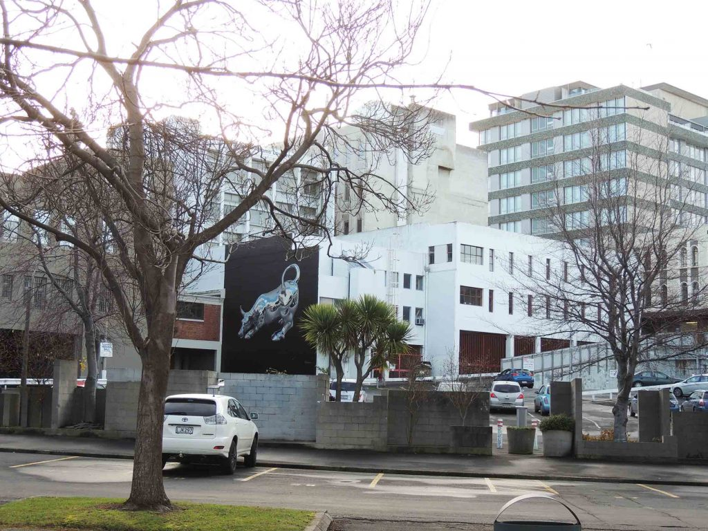 Bik-Ismo arte urbano en Dunedin